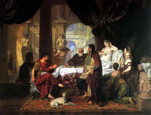 从野蛮到文明的过渡时期,查理曼掀起加洛林王朝的文艺复兴时代